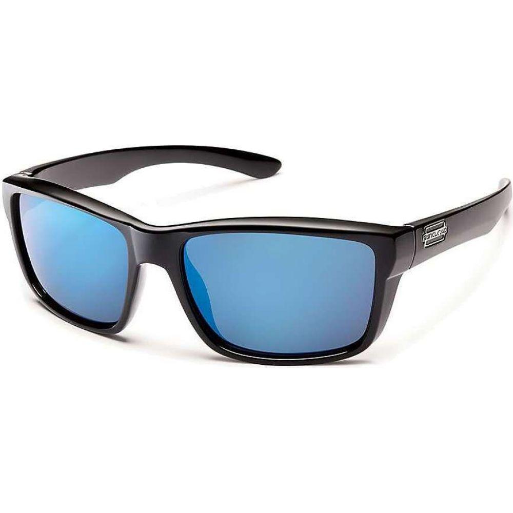 サンクラウド Suncloud メンズ メガネ・サングラス 【Mayor Polarized Sunglasses】Black/Blue Mirror Polarized