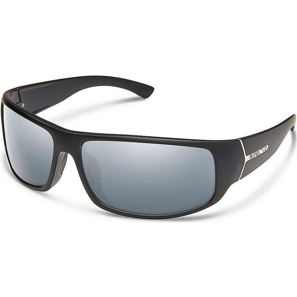 サンクラウド Suncloud メンズ メガネ・サングラス 【Turbine Polarized Sunglasses】Matte Black/Silver Mirror Polarized