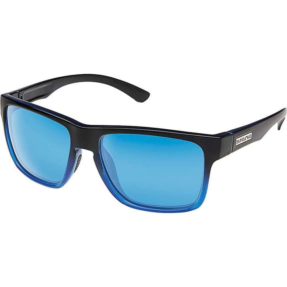 サンクラウド Suncloud メンズ メガネ・サングラス 【Rambler Polarized Sunglasses】Black Blue/Blue Mirror Polarized