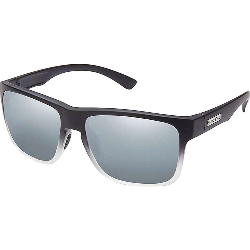 サンクラウド Suncloud メンズ メガネ・サングラス 【Rambler Polarized Sunglasses】Black Grey Fade/Silver Mirror Polarized