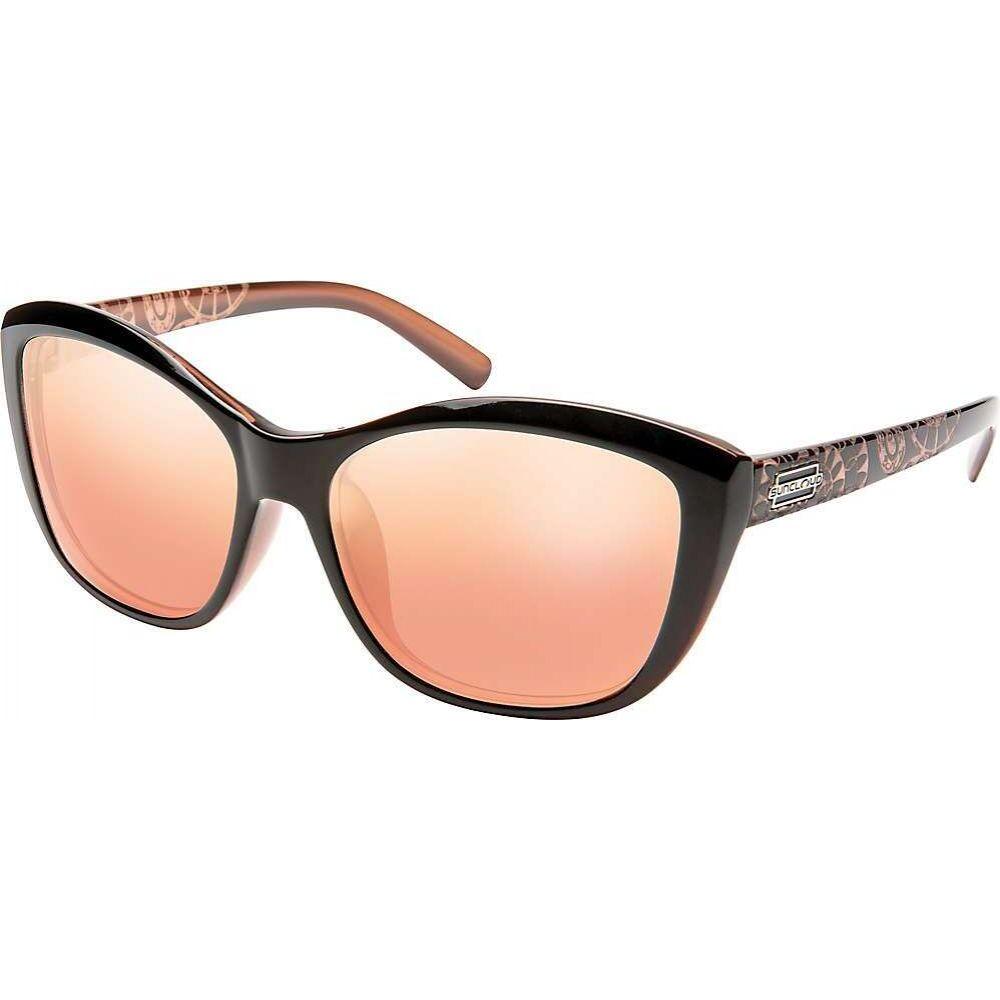 サンクラウド Suncloud メンズ メガネ・サングラス 【Skyline Polarized Sunglasses】Rose Backpaint Lase/Polarized Pink Gold Mirror