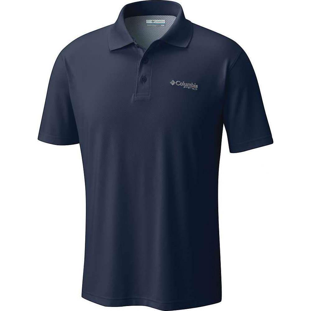 コロンビア Columbia メンズ ポロシャツ トップス【Skiff Cast Polo Shirt】Collegiate Navy
