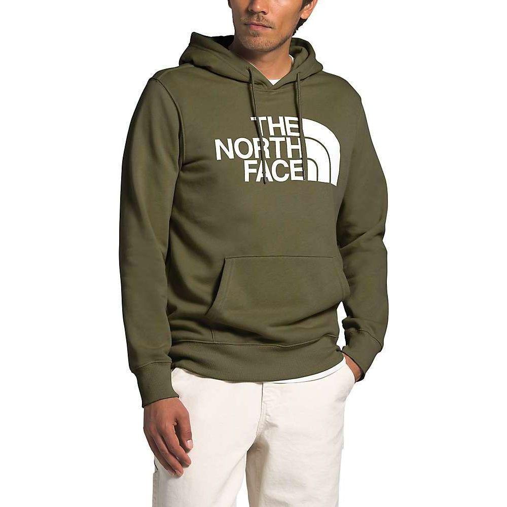 ザ ノースフェイス The North Face メンズ パーカー トップス【Half Dome Pullover Hoodie】Burnt Olive Green