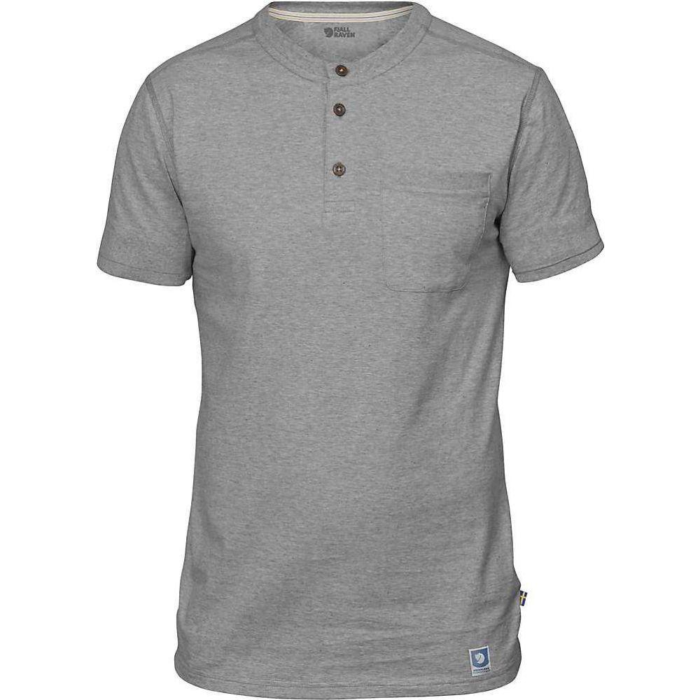 フェールラーベン Fjallraven メンズ 半袖シャツ トップス【Greenland Buttoned SS Shirt】Grey