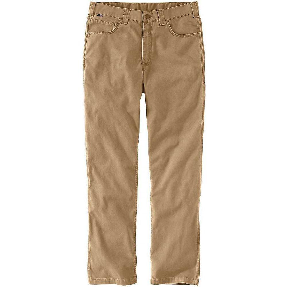 カーハート Carhartt メンズ ボトムス・パンツ ワークパンツ【Flame-Resistant Rugged Flex Relaxed Fit Canvas Work Pant】Dark Khaki