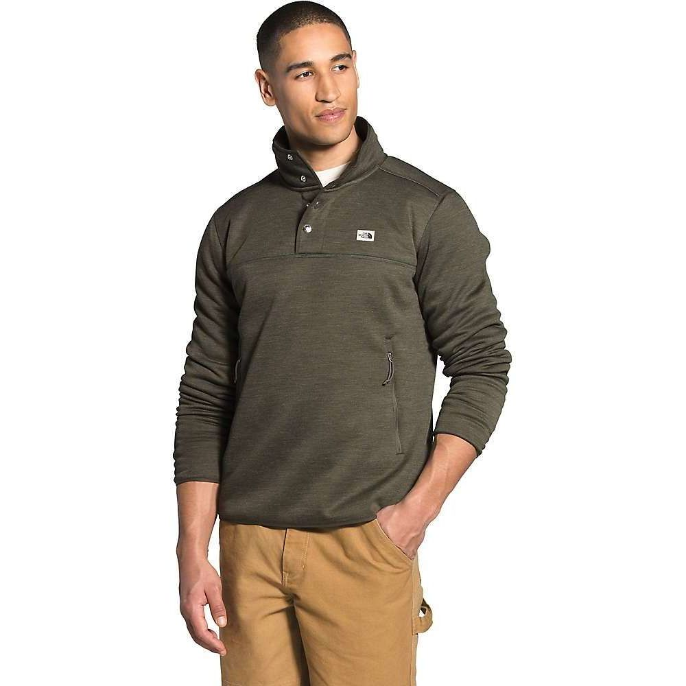 ザ ノースフェイス The North Face メンズ フリース トップス【Sherpa Patrol 1/4 Snap Pullover】New Taupe Green White Heather