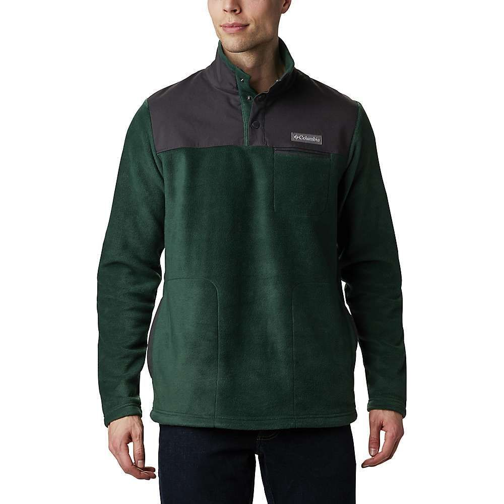 コロンビア Columbia メンズ フリース トップス【Cottonwood Park Half Snap Jacket】Spruce/Shark