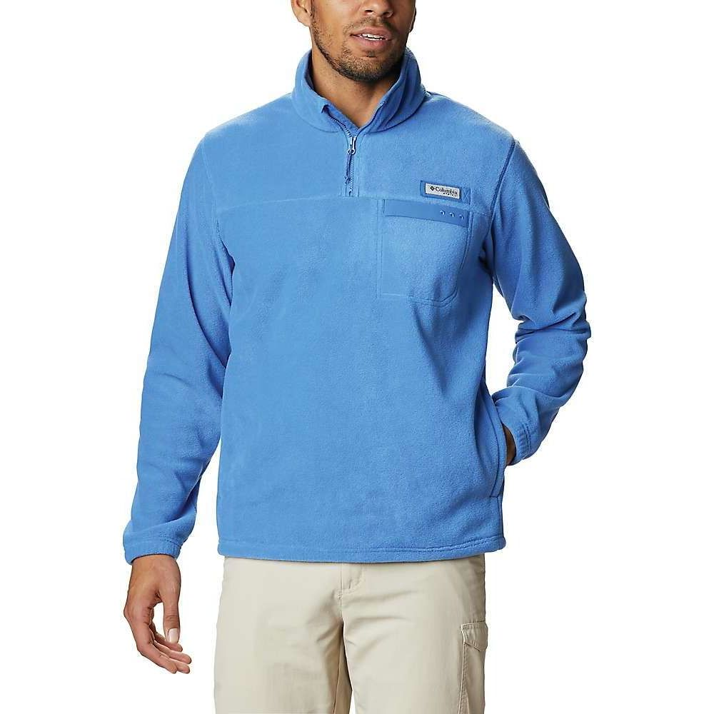 コロンビア Columbia メンズ フリース トップス【Grander Marlin MTR Fleece Pullover】Vivid Blue