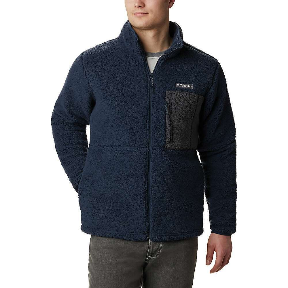 コロンビア Columbia メンズ フリース トップス【Mountainside Heavyweight Fleece Jacket】Collegiate Navy