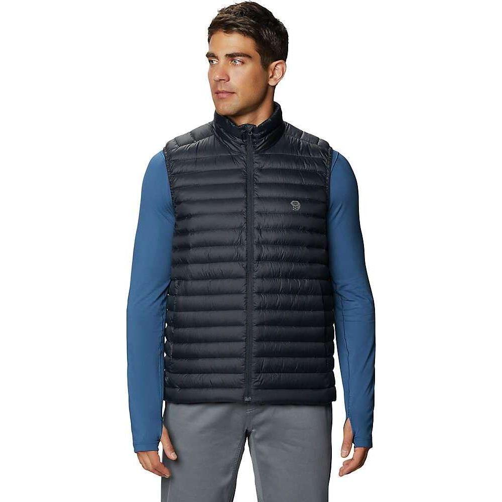 マウンテンハードウェア Mountain Hardwear メンズ ベスト・ジレ トップス【Mt Eyak/2 Vest】Dark Storm