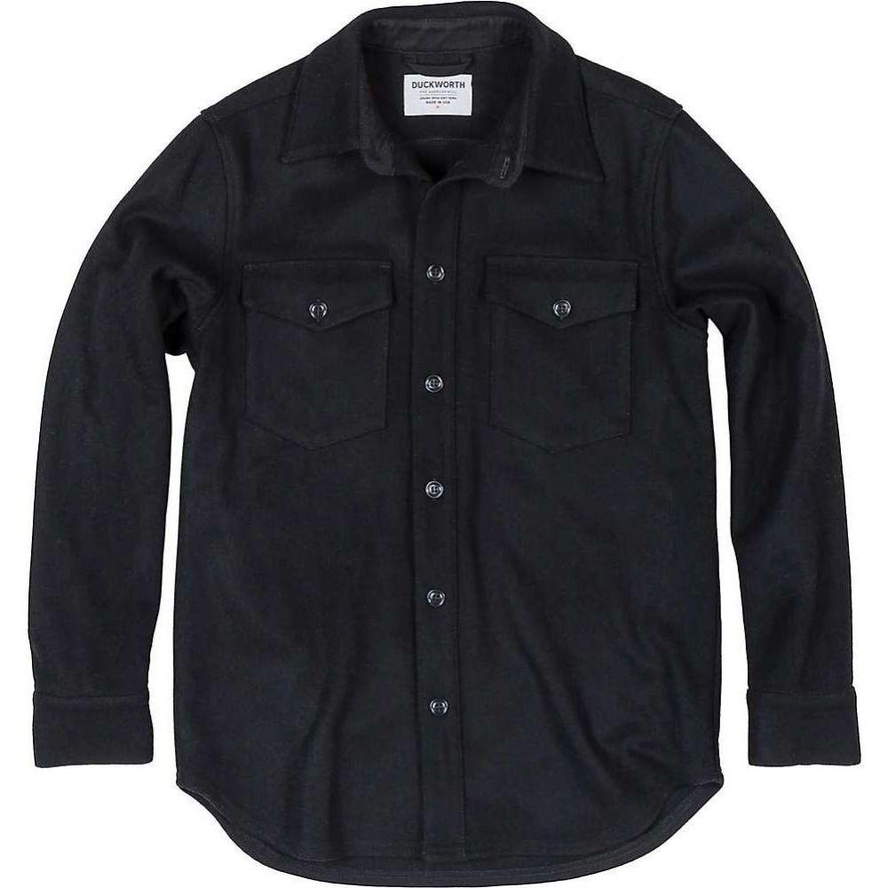 ダックワース Duckworth メンズ シャツ トップス【SnowCrest Shirt】Black