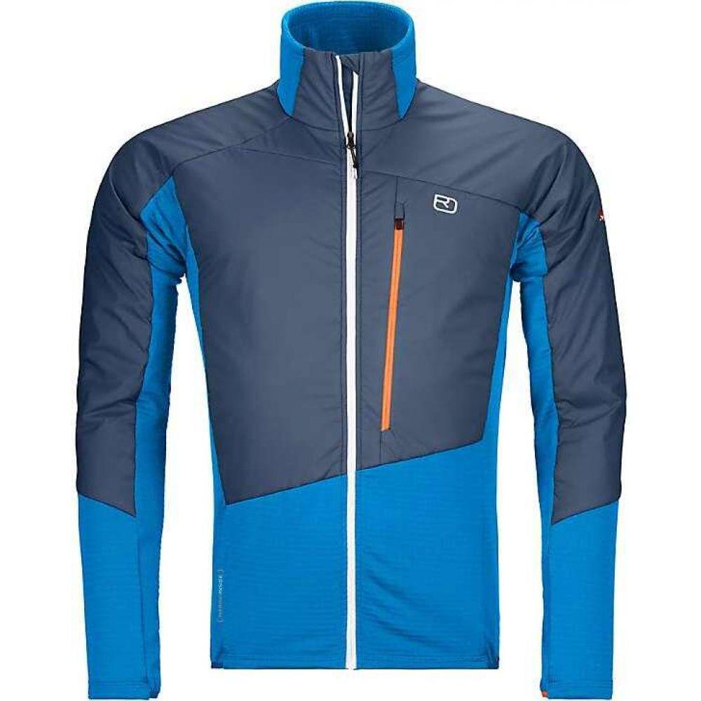 オルトボックス Ortovox メンズ フリース トップス【Westalpen Swisswool Hybrid Jacket】Safety Blue