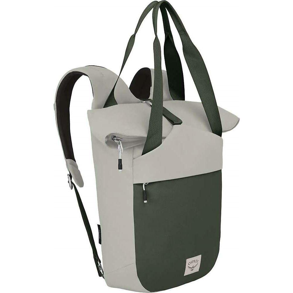 オスプレー Osprey メンズ トートバッグ バッグ【Arcane Tote Pack】Lunar Grey/Haybale Green