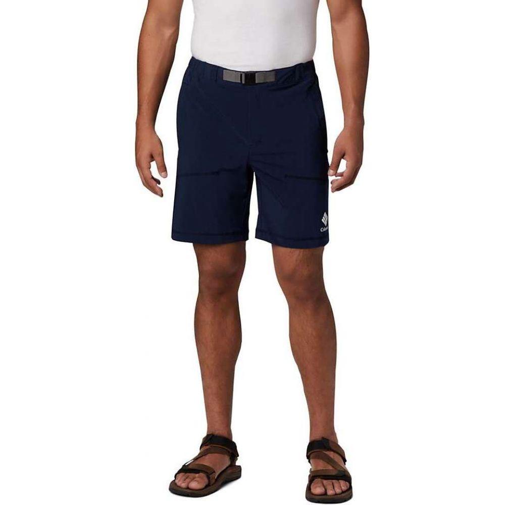 コロンビア Columbia メンズ ショートパンツ ボトムス・パンツ【Lodge 8 Inch Woven Short】Collegiate Navy