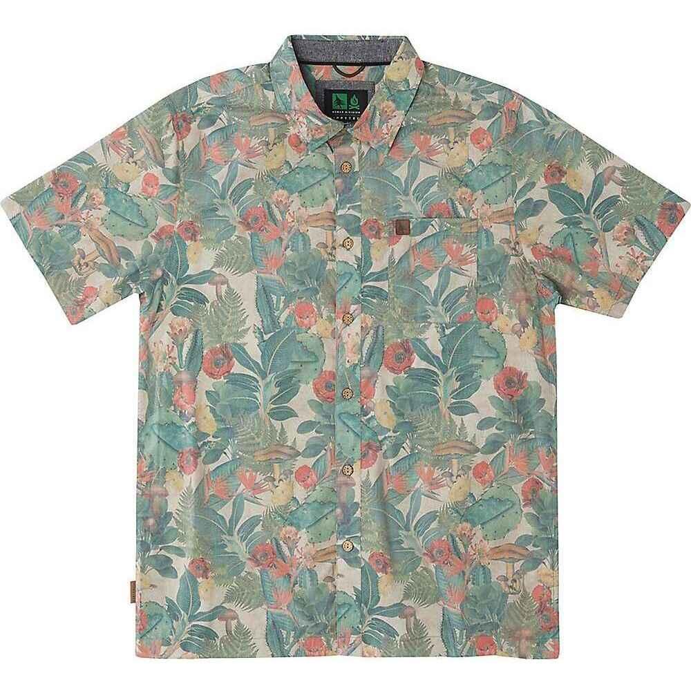 ヒッピーツリー HippyTree メンズ 半袖シャツ トップス【Chiapas Woven Shirt】Natural