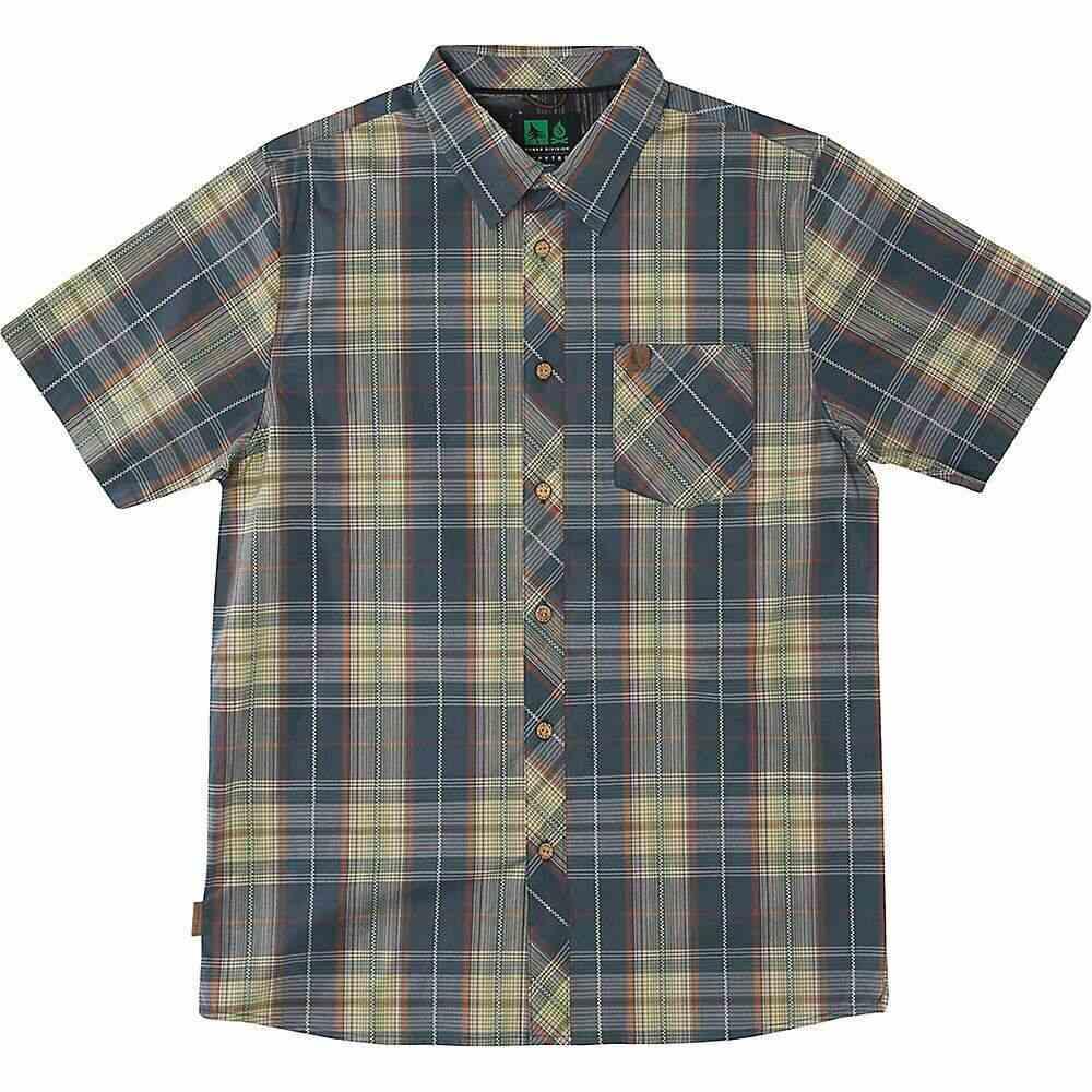 ヒッピーツリー HippyTree メンズ 半袖シャツ トップス【Ironwood Woven Shirt】Blue