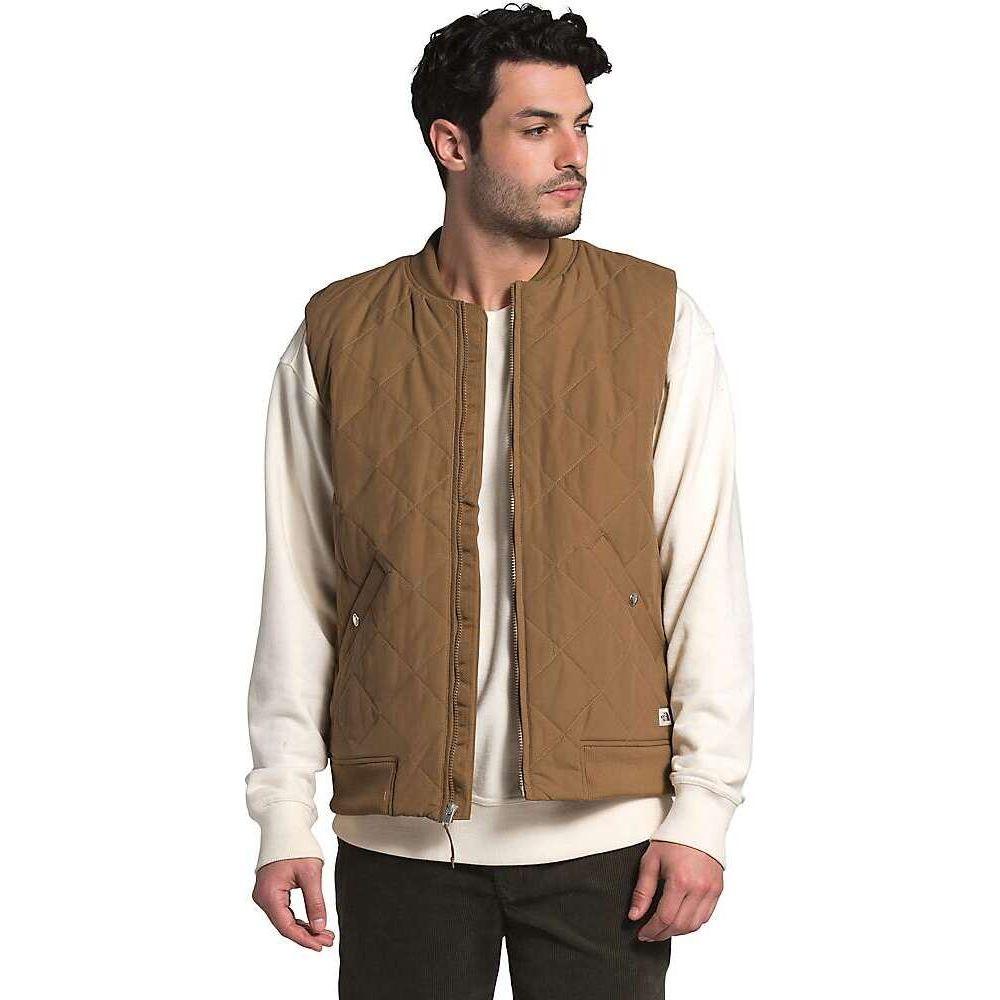 ザ ノースフェイス The North Face メンズ ベスト・ジレ トップス【Cuchillo Insulated Vest】Utility Brown