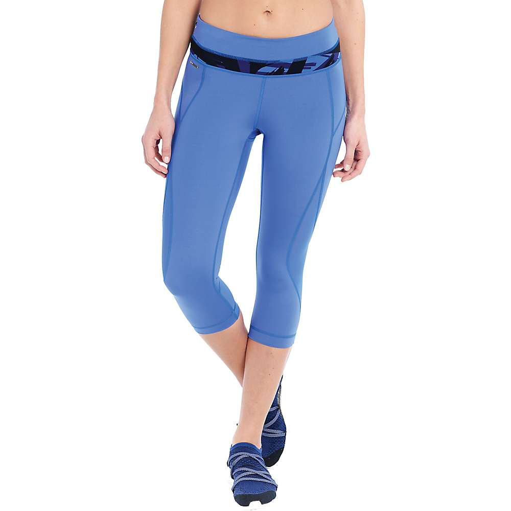 ロール レディース ヨガ ウェア【Lole Run Capri】Dazzling Blue