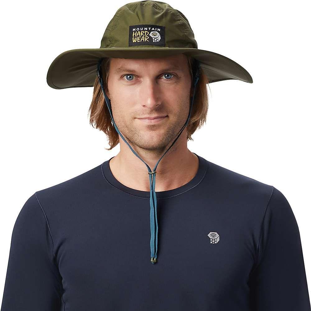 マウンテンハードウェア Mountain Hardwear ユニセックス 帽子 レインハット【Exposure/2 GTX Paclite Rain Hat】Dark Army