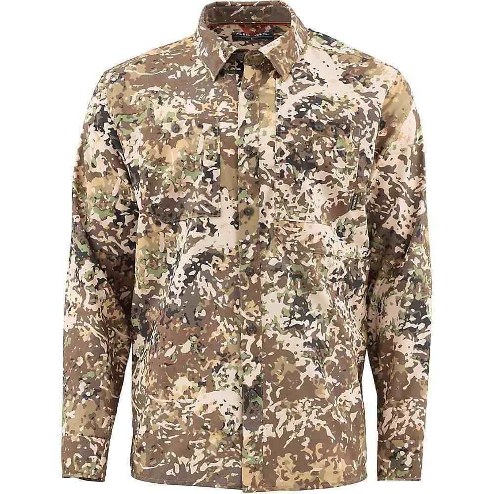 シムス Simms メンズ シャツ トップス【Double Haul LS Shirt】River Camo