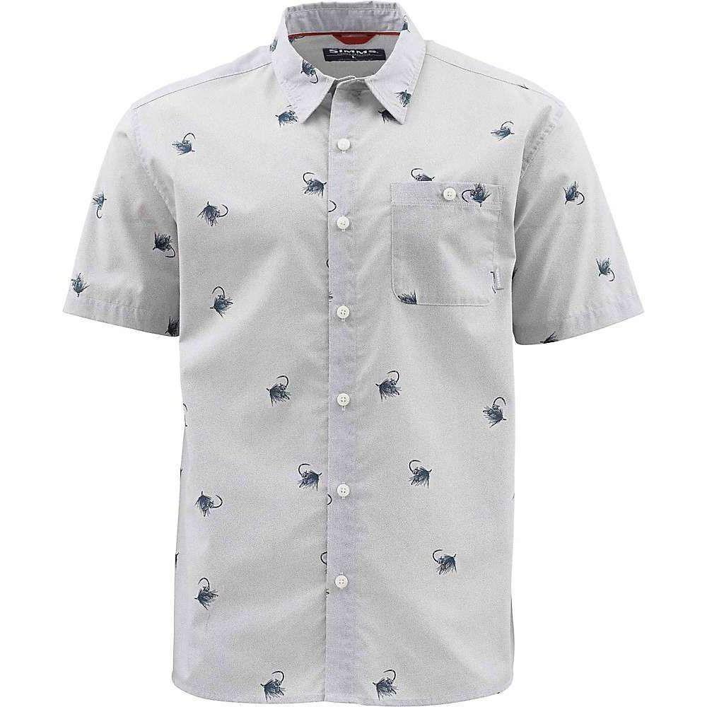 シムス Simms メンズ 半袖シャツ トップス【Tailout SS Shirt】Cowboy Fly Sterling