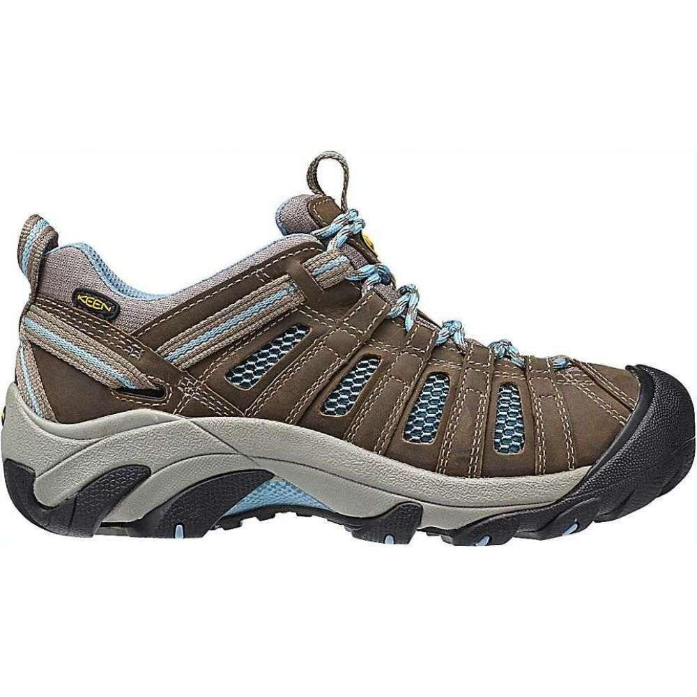 キーン Keen レディース ハイキング・登山 シューズ・靴【KEEN Voyageur Shoe】Brindle/Alaskan Blue