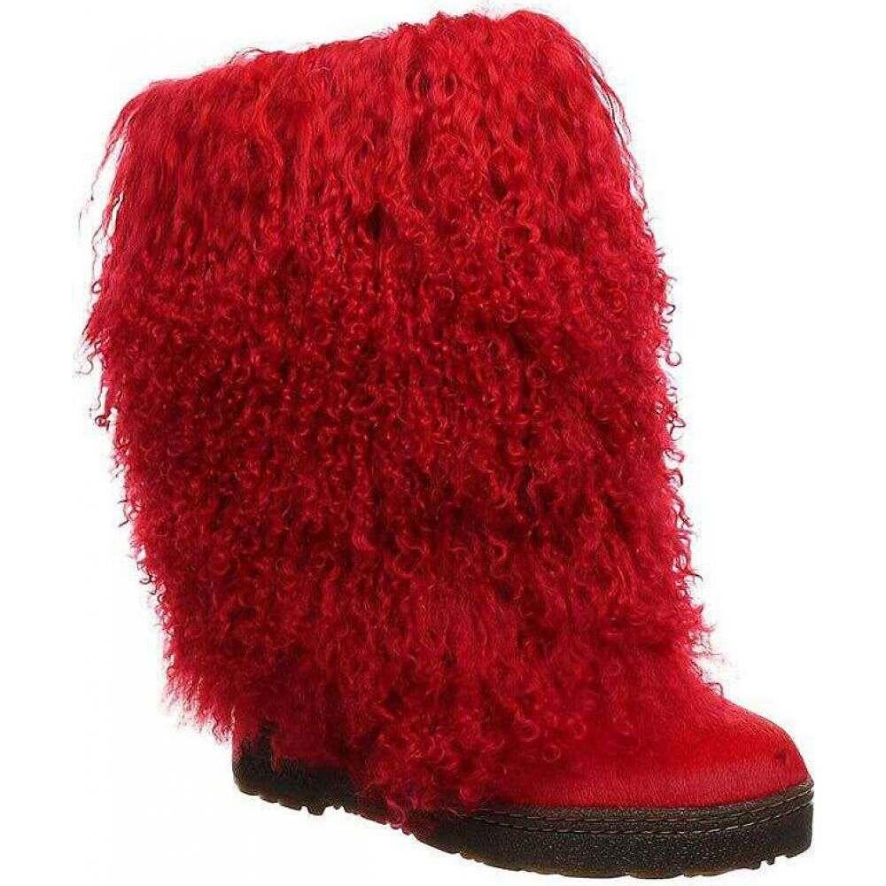 ベアパウ Bearpaw レディース ブーツ シューズ・靴【Boetis Boot】Red