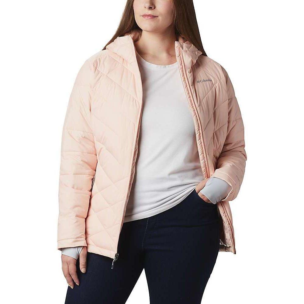 コロンビア Columbia レディース ジャケット フード アウター【Heavenly Hooded Jacket】Peach Cloud