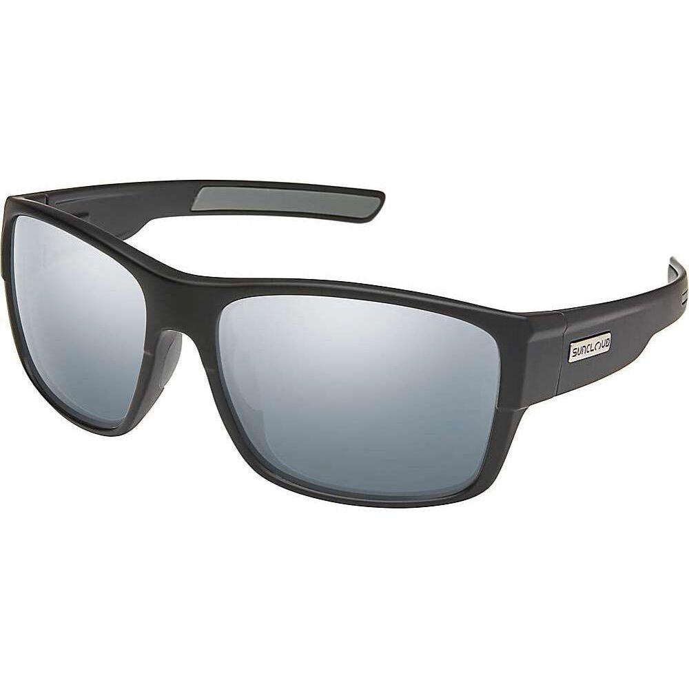 サンクラウド Suncloud ユニセックス メガネ・サングラス 【Range Polarized Sunglasses】Matte Black/Silver Mirror Polarized