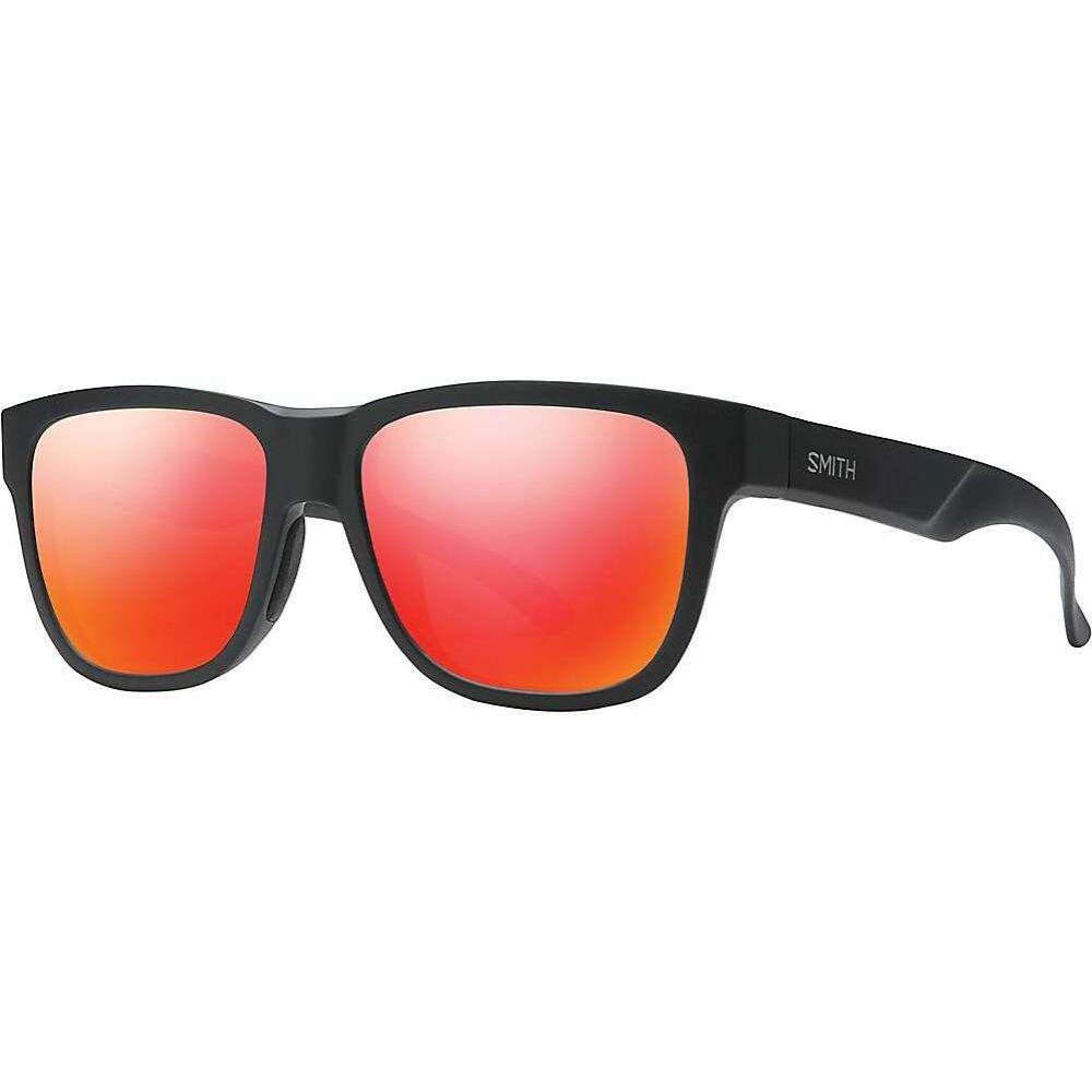 スミス Smith ユニセックス メガネ・サングラス 【Lowdown Slim 2 Sunglasses】Matte Black/Red Mirror