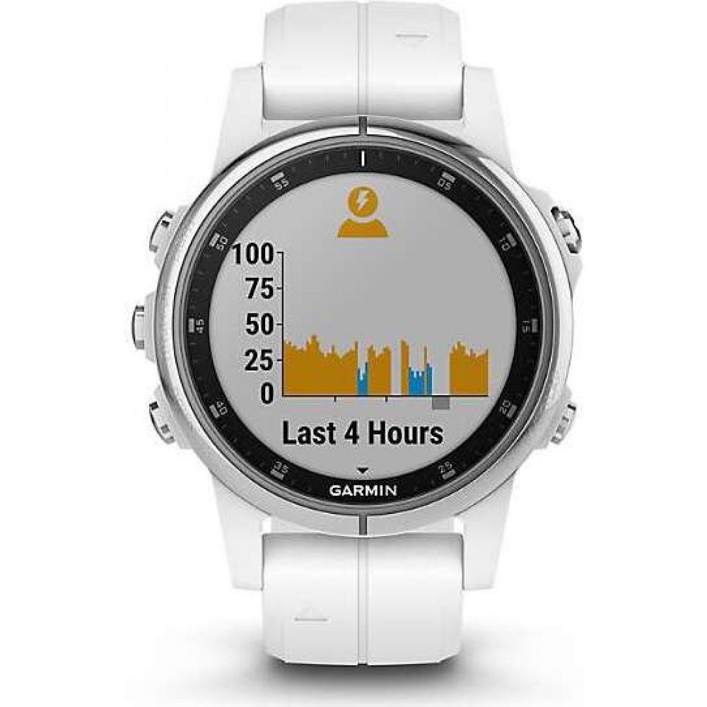 ガーミン Garmin ユニセックス 腕時計 【fenix 5S Plus Sapphire Watch】White