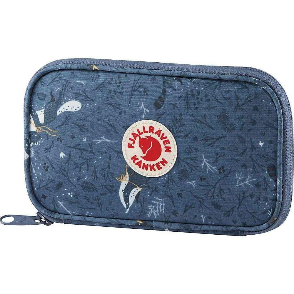 フェールラーベン Fjallraven ユニセックス 財布 カンケン【Kanken Art Travel Wallet】Blue Fable