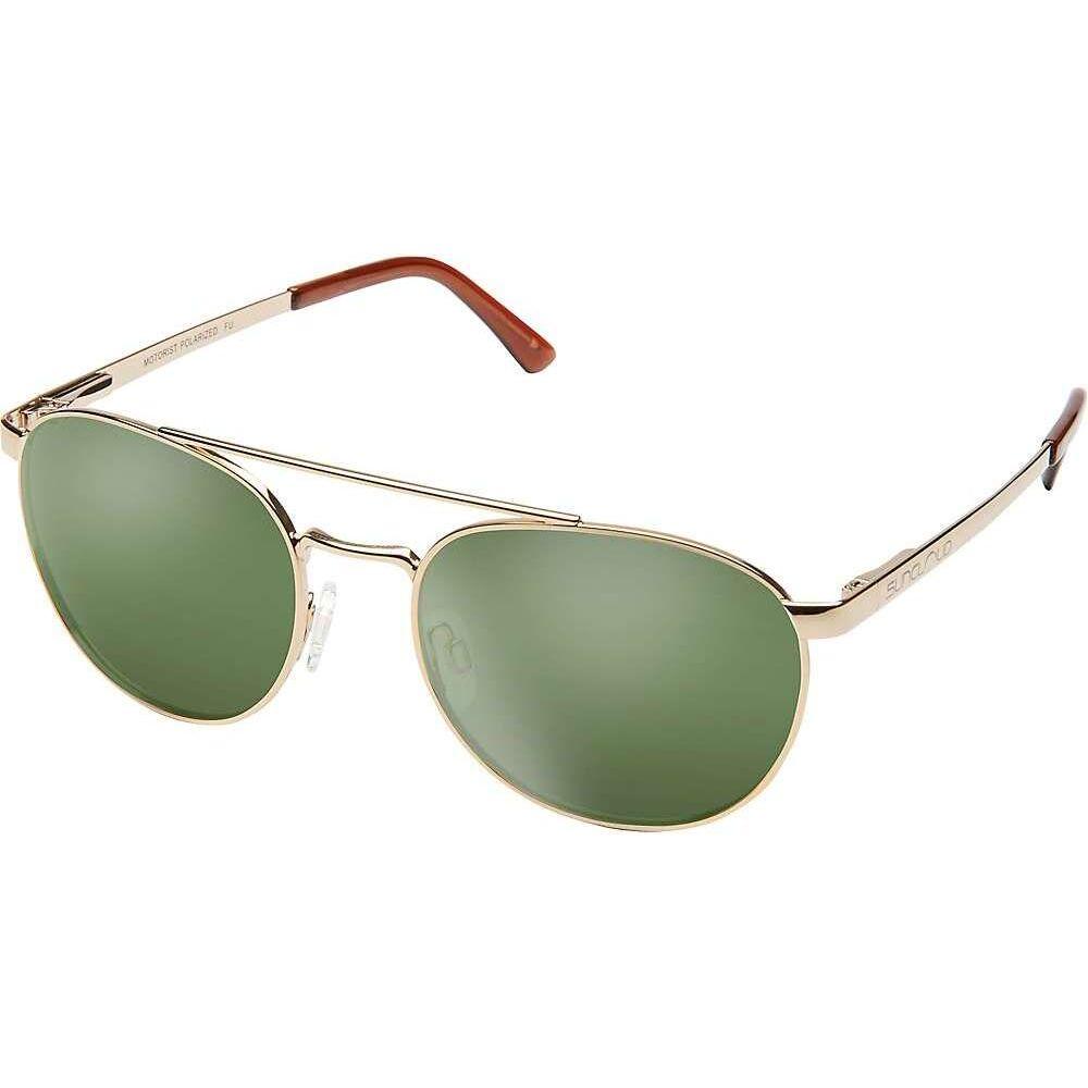 サンクラウド Suncloud ユニセックス メガネ・サングラス 【Motorist Sunglasses】Gold/Gray Green Polarized