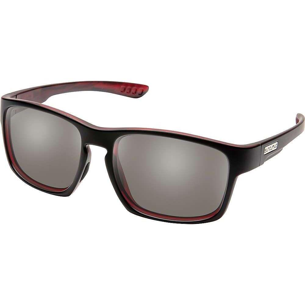 サンクラウド Suncloud ユニセックス メガネ・サングラス 【Fairfield Polarized Sunglasses】Burnished Red/Polarized Gray