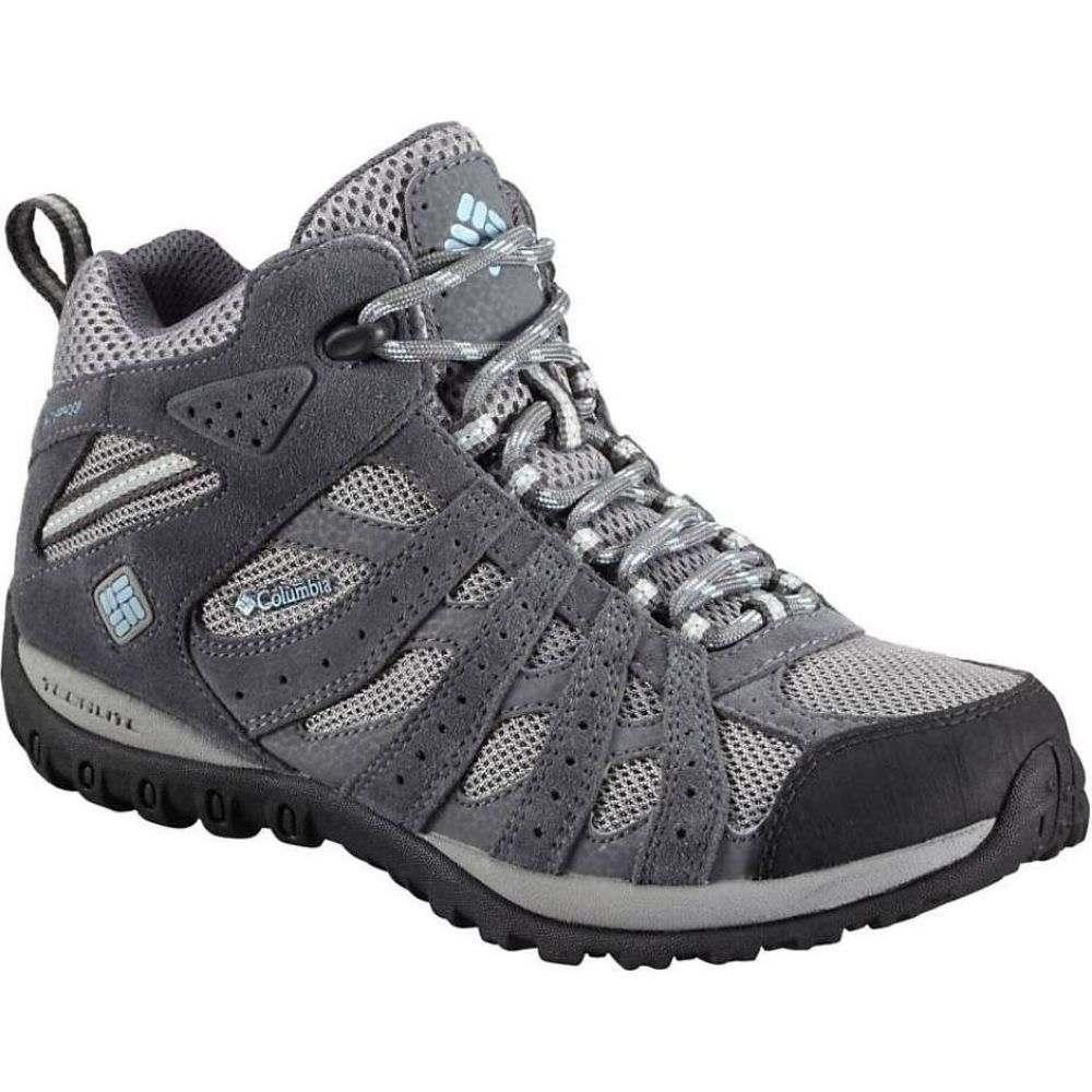 コロンビア Columbia Footwear レディース ハイキング・登山 ブーツ シューズ・靴【Columbia Redmond WP Mid Boot】Light Grey/Sky Blue