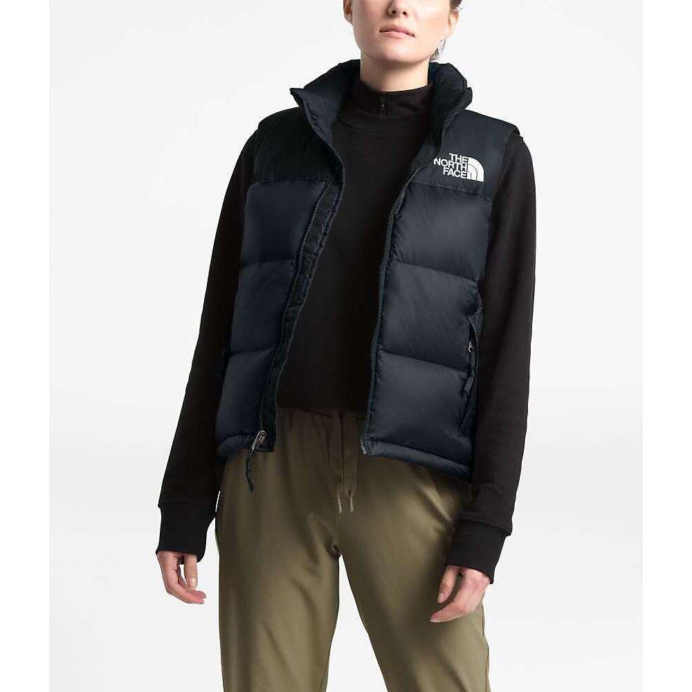 ザ ノースフェイス The North Face レディース ベスト・ジレ トップス【1996 Retro Nuptse Vest】TNF Black JK
