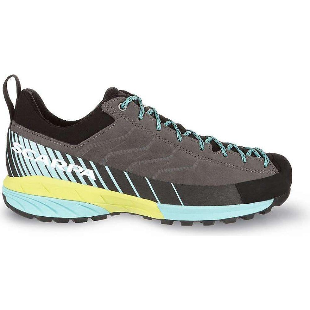 スカルパ Scarpa レディース クライミング シューズ・靴【Mescalito Shoe】Titanium/Green Blue