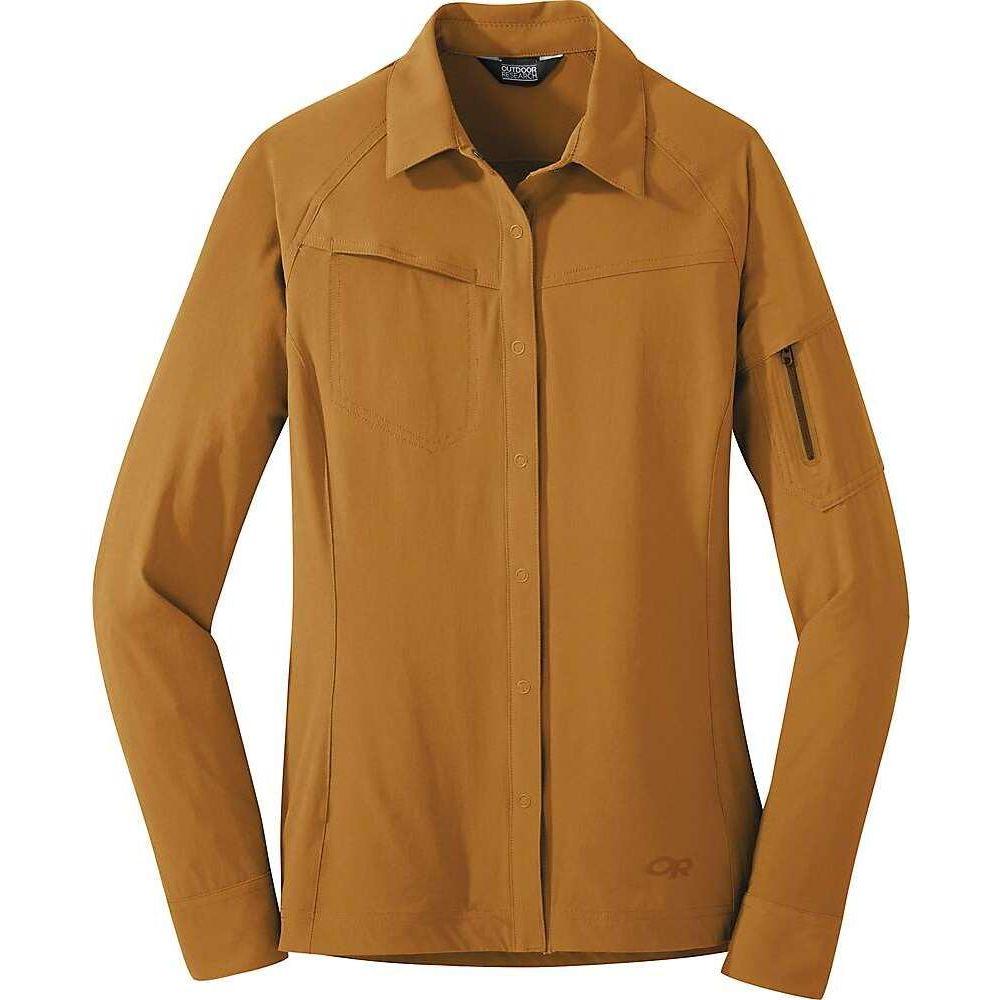 アウトドアリサーチ Outdoor Research レディース ジャケット シャツジャケット アウター【Ferrosi Shirt Jacket】Curry