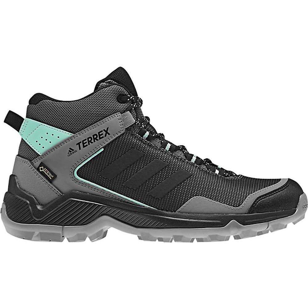 アディダス Adidas レディース ハイキング・登山 ブーツ シューズ・靴【Terrex Entry Hiker Mid GTX Boot】Grey Four/Black/Clear Mint