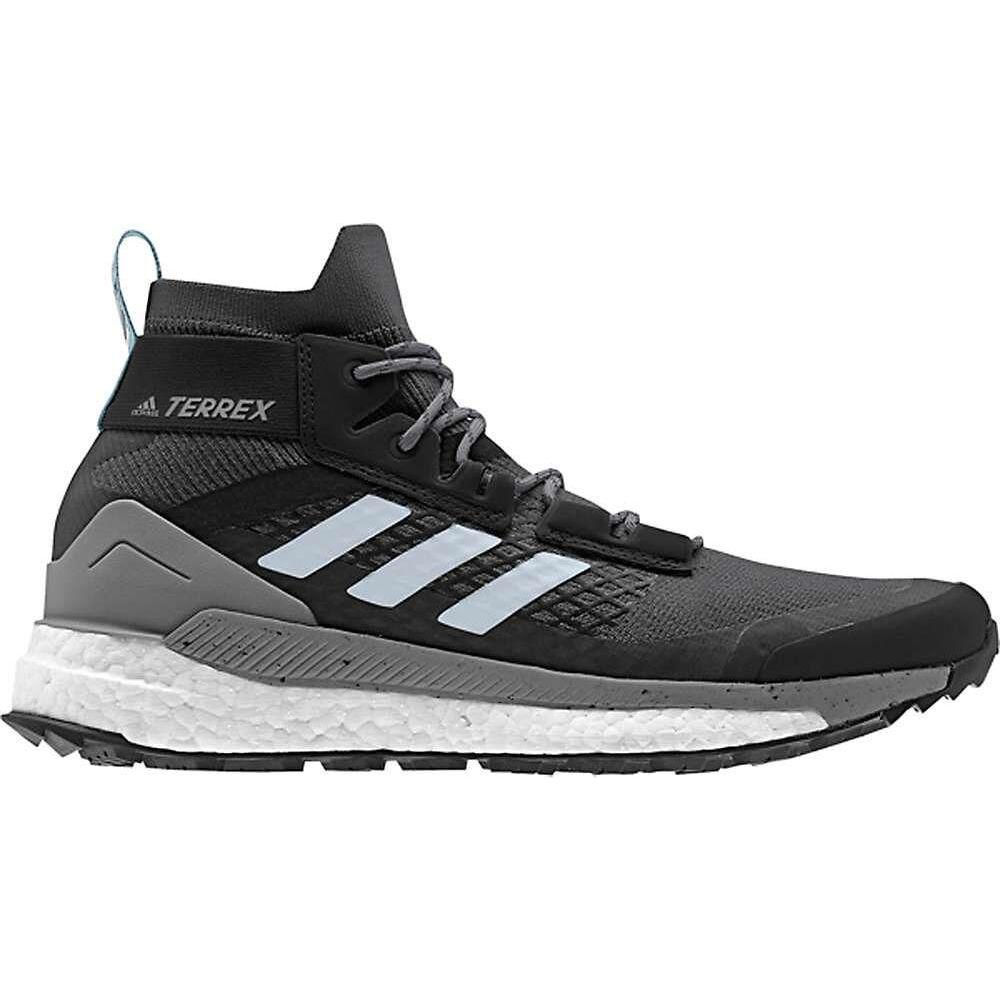 アディダス Adidas レディース ハイキング・登山 ブーツ シューズ・靴【Terrex Free Hiker Boot】Carbon/Blue Tint/Ash Grey