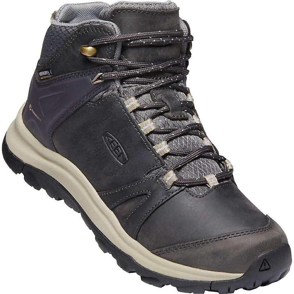 キーン Keen レディース ハイキング・登山 ブーツ シューズ・靴【KEEN Terradora II Leather Mid WP Boot】Magnet/Plaza Taupe
