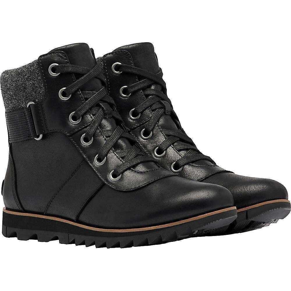 ソレル Sorel レディース シューズ・靴 【Harlow Conquest Shoe】Black