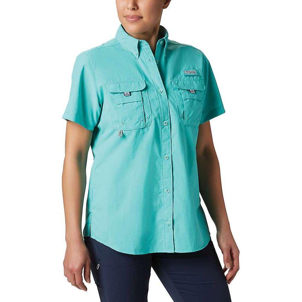 Columbia コロンビア 【Bahama トップス レディース SS Shirt】Dolphin