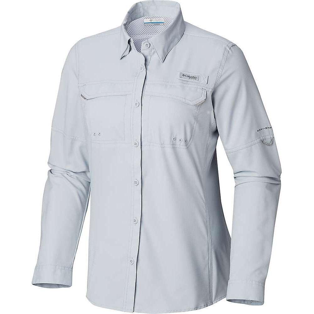 コロンビア Columbia レディース ハイキング・登山 シャツ トップス【Lo Drag LS Shirt】Cirrus Grey