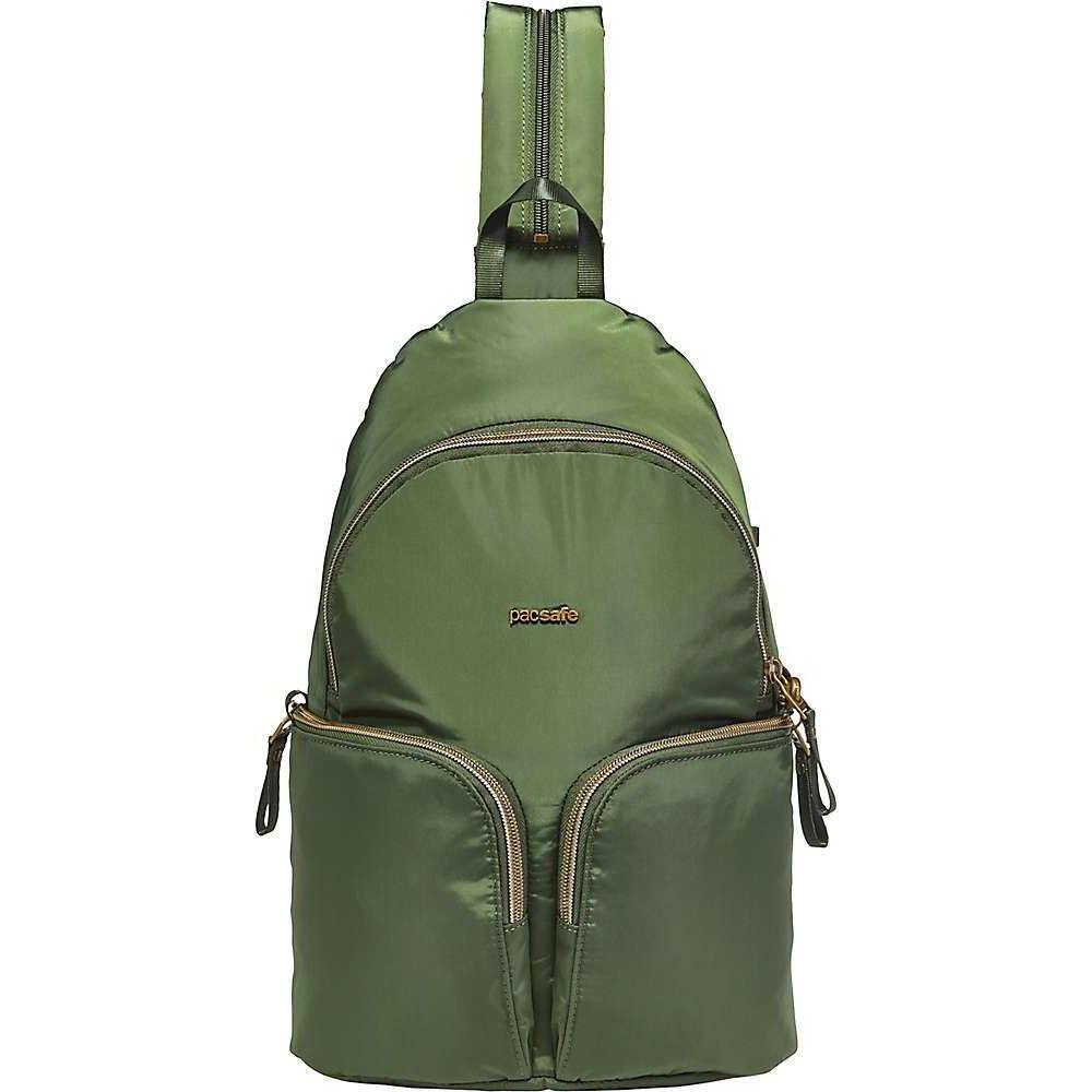 パックセーフ Pacsafe レディース バックパック・リュック バッグ【Stylesafe Sling Backpack】Kombu Green