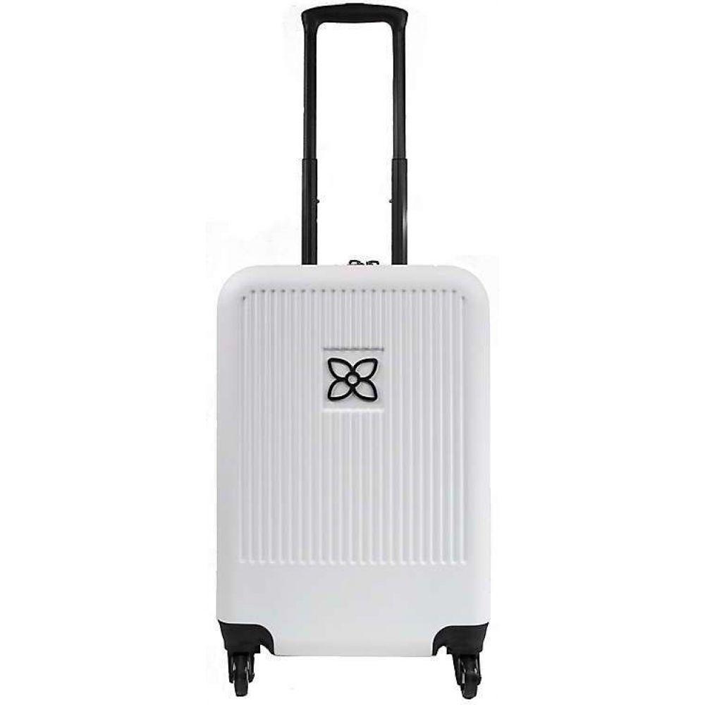 シェルパニ Sherpani レディース スーツケース・キャリーバッグ バッグ【Meridian Carryon】White