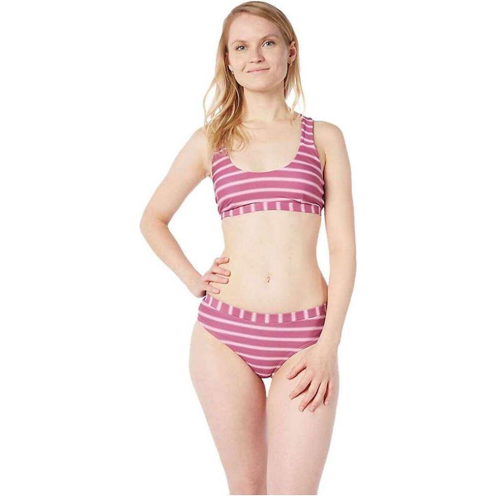 レベルシックス Level Six レディース トップのみ 水着・ビーチウェア【Cypress Bikini Top】Block Stripe Light Pink