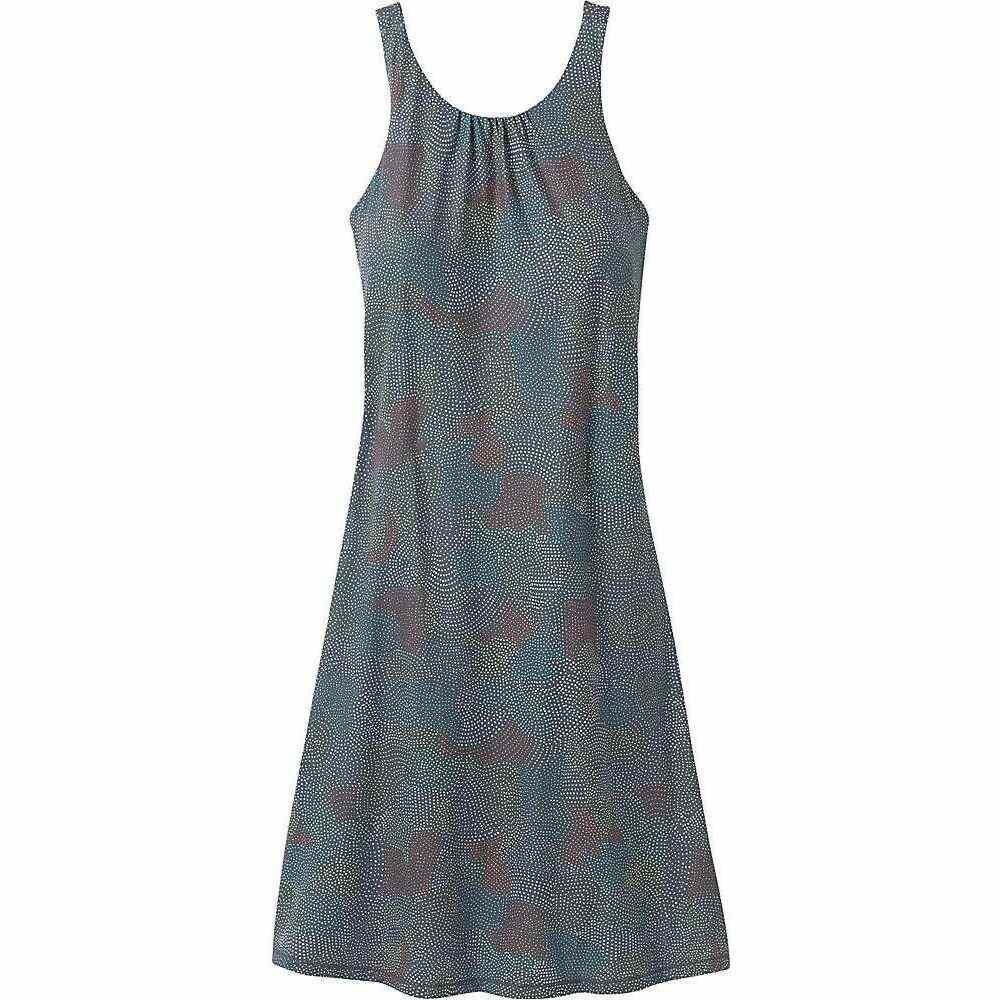 プラーナ Prana レディース ワンピース ワンピース・ドレス【Skypath Dress - Plus】Chalkboard Dotty