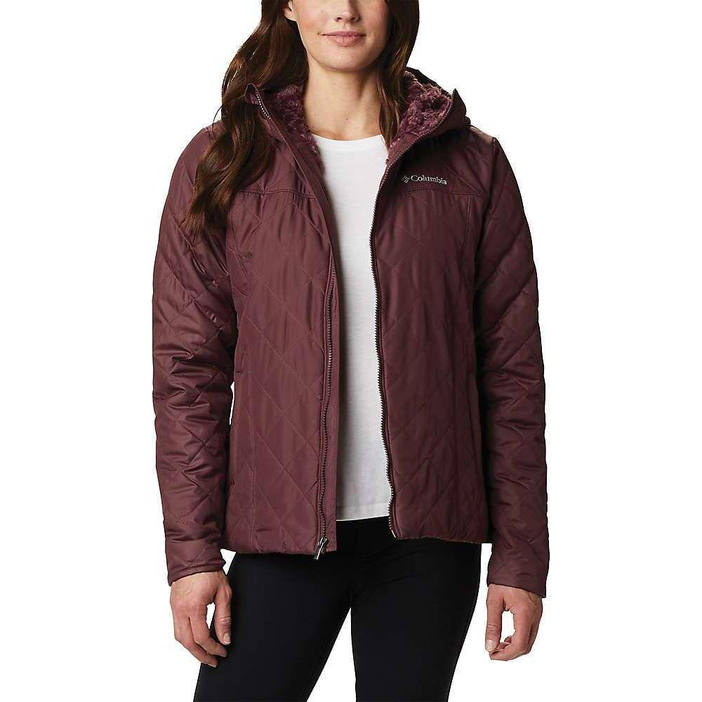 コロンビア Columbia レディース ジャケット フード アウター【Copper Crest Hooded Jacket】Malbec