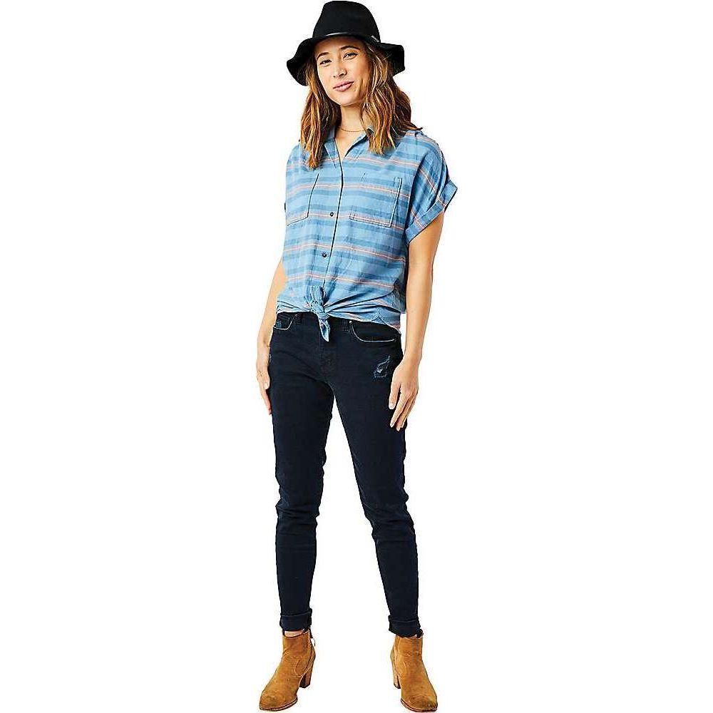 カーヴデザイン Carve Designs レディース トップス 【Huck SS Shirt】Lake Stripe